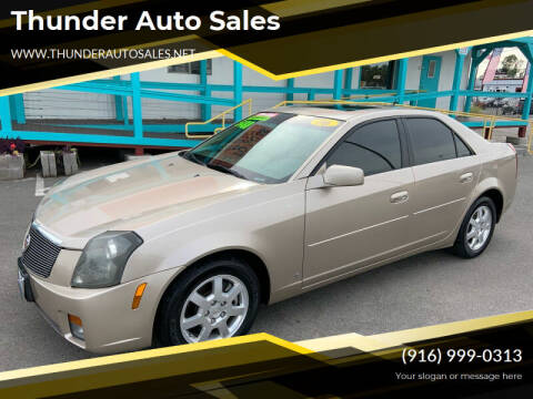 2006 Cadillac CTS for sale at Thunder Auto Sales in Sacramento CA