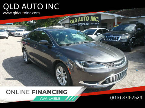 2016 Chrysler 200 for sale at QLD AUTO INC in Tampa FL