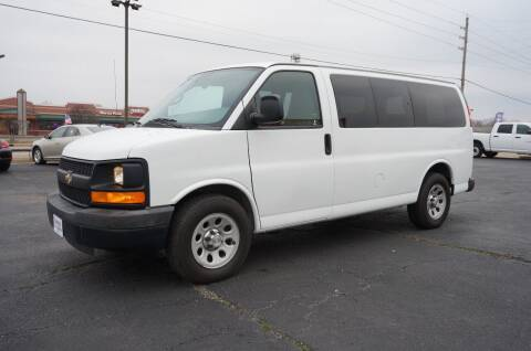 2013 Chevrolet Express Passenger for sale at Certified Auto Center in Tulsa OK