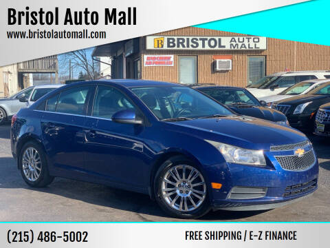 2012 Chevrolet Cruze for sale at Bristol Auto Mall in Levittown PA