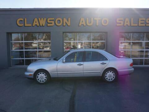 1998 Mercedes-Benz E-Class for sale at Clawson Auto Sales in Clawson MI