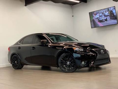 2014 Lexus IS 250 for sale at Texas Prime Motors in Houston TX