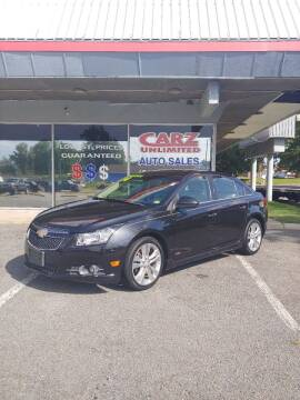 2014 Chevrolet Cruze for sale at Carz Unlimited in Richmond VA