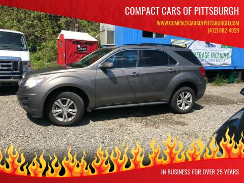 2011 Chevrolet Equinox for sale at Compact Cars of Pittsburgh in Pittsburgh PA