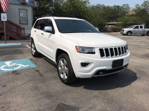 2014 Jeep Grand Cherokee for sale at Auto Solution in San Antonio TX