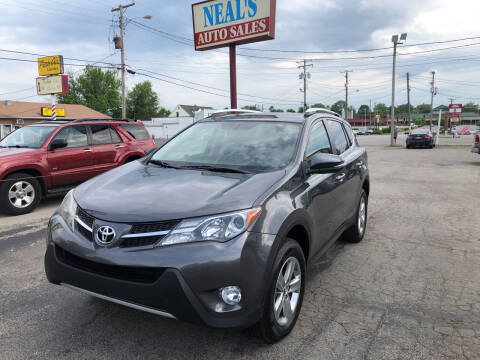 2015 Toyota RAV4 for sale at Neals Auto Sales in Louisville KY