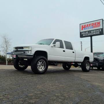 1998 Chevrolet C/K 3500 Series for sale at Hayden Cars in Coeur D Alene ID