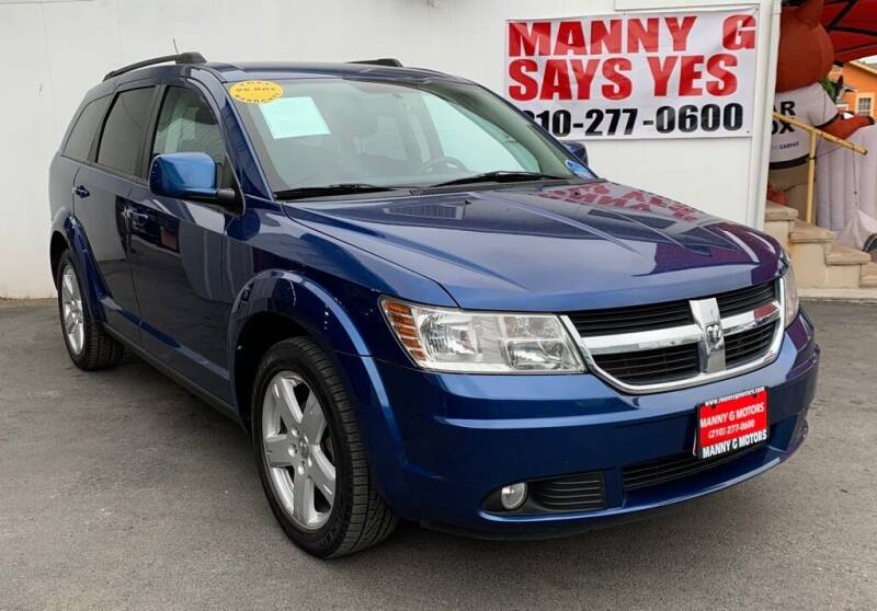 2010 Dodge Journey for sale at Manny G Motors in San Antonio TX