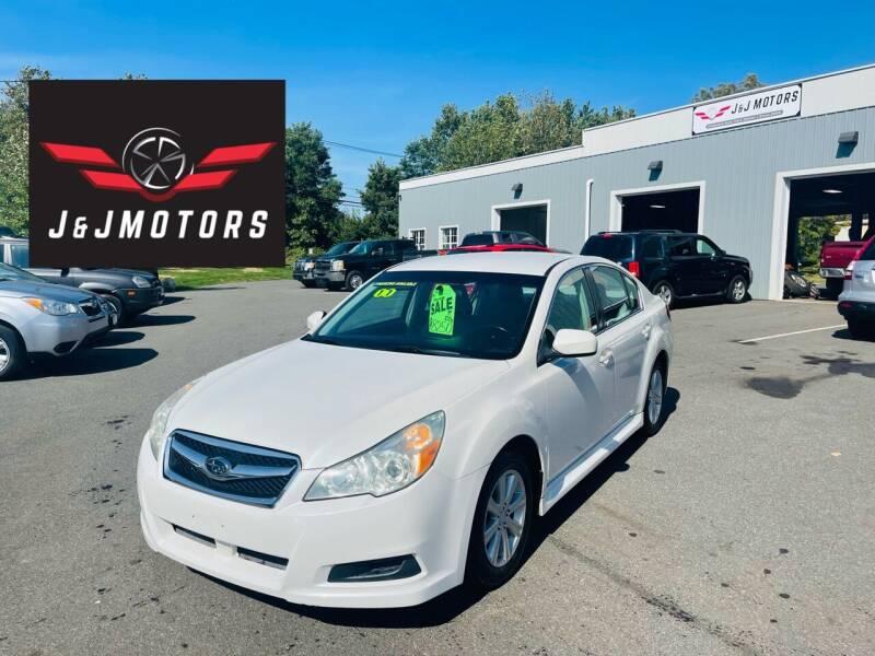 2011 Subaru Legacy for sale at J & J MOTORS in New Milford CT