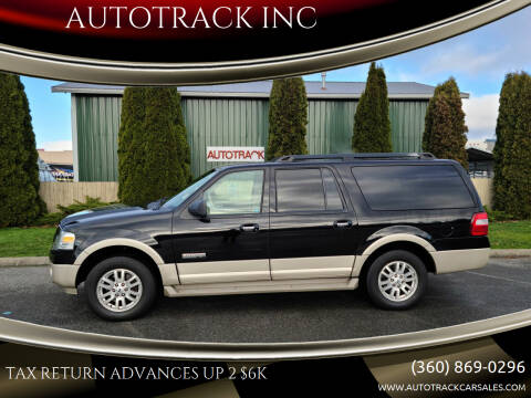2008 Ford Expedition EL for sale at AUTOTRACK INC in Mount Vernon WA