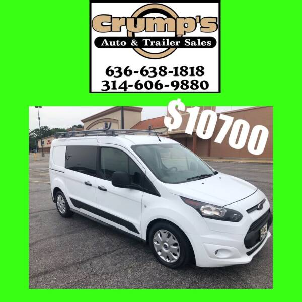 2015 Ford Transit Connect Cargo for sale at CRUMP'S AUTO & TRAILER SALES in Crystal City MO