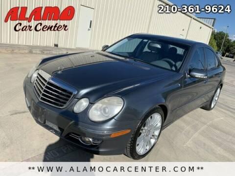 2008 Mercedes-Benz E-Class for sale at Alamo Car Center in San Antonio TX