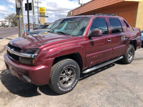 2002 Chevrolet Avalanche for sale at TOP YIN MOTORS in Mount Prospect IL