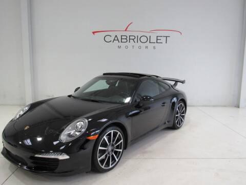 2014 Porsche 911 for sale at Cabriolet Motors in Morrisville NC