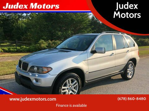 2005 BMW X5 for sale at Judex Motors in Loganville GA