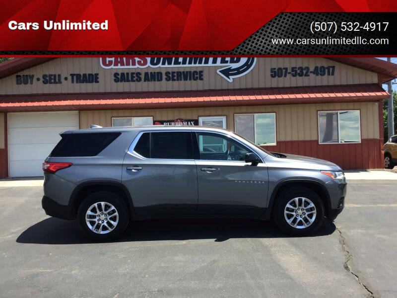 2019 Chevrolet Traverse for sale at Cars Unlimited in Marshall MN