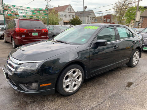 2010 Ford Fusion for sale at Barnes Auto Group in Chicago IL