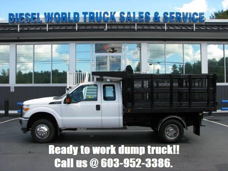 2015 Ford F-350 Super Duty for sale at Diesel World Truck Sales - Dump Truck in Plaistow NH