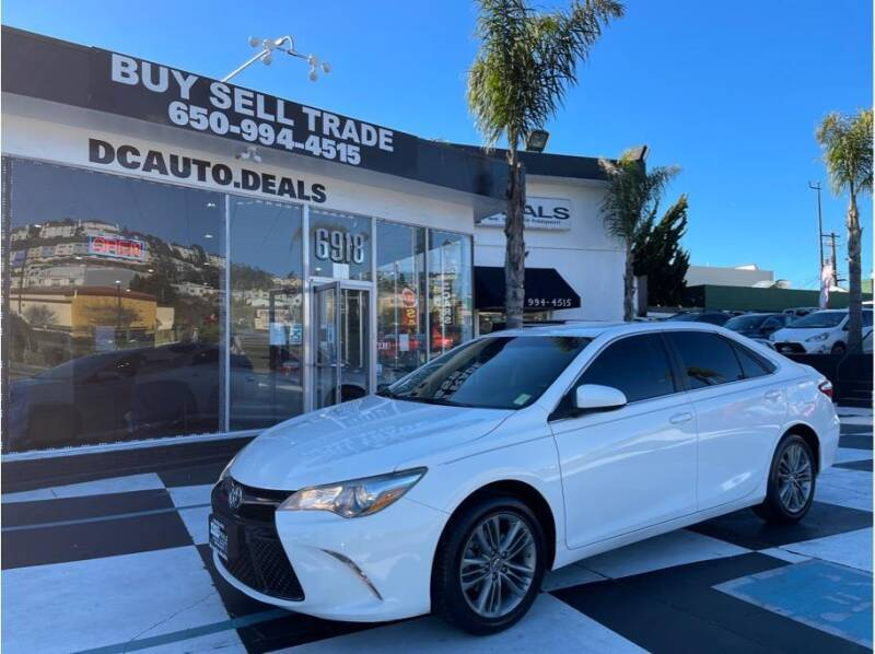 2017 Toyota Camry for sale at AutoDeals in Daly City CA