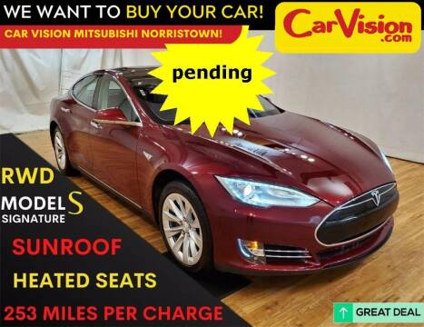 2012 Tesla Model S for sale at Car Vision Mitsubishi Norristown in Trooper PA