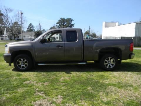 2008 Chevrolet Silverado 1500 for sale at SeaCrest Sales, LLC in Elizabeth City NC