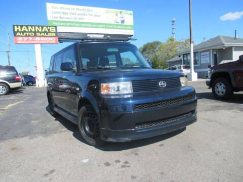 2006 Scion xB for sale at Hanna's Auto Sales in Indianapolis IN
