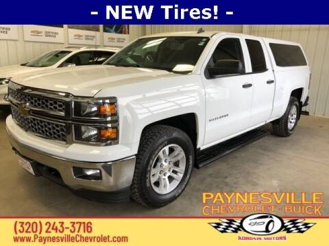 2014 Chevrolet Silverado 1500 for sale at Paynesville Chevrolet - Buick in Paynesville MN