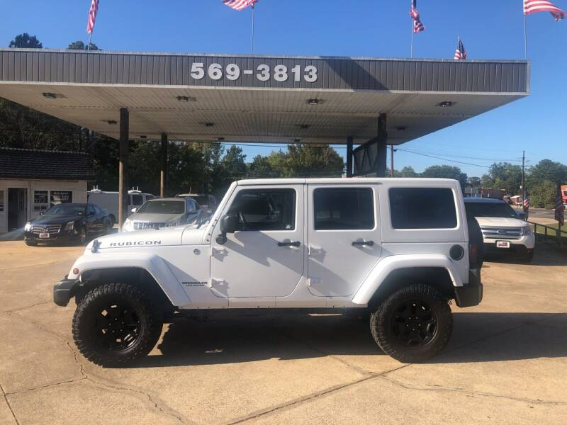 2012 Jeep Wrangler Unlimited for sale at BOB SMITH AUTO SALES in Mineola TX