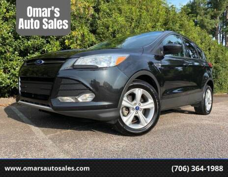 2014 Ford Escape for sale at Omar's Auto Sales in Martinez GA