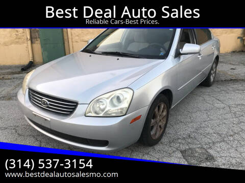 2006 Kia Optima for sale at Best Deal Auto Sales in Saint Charles MO