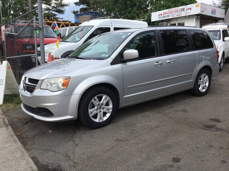 2012 Dodge Grand Caravan for sale at Drive Deleon in Yonkers NY