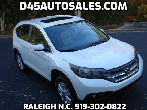 2013 Honda CR-V for sale at D45 Auto Brokers in Raleigh NC