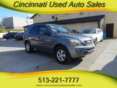 2007 Kia Sorento for sale at Cincinnati Used Auto Sales in Cincinnati OH