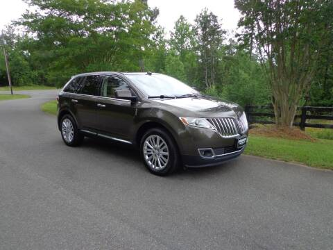 2011 Lincoln MKX for sale at CAROLINA CLASSIC AUTOS in Fort Lawn SC