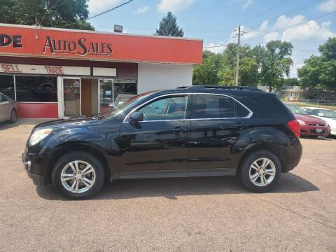 2010 Chevrolet Equinox for sale at RIVERSIDE AUTO SALES in Sioux City IA