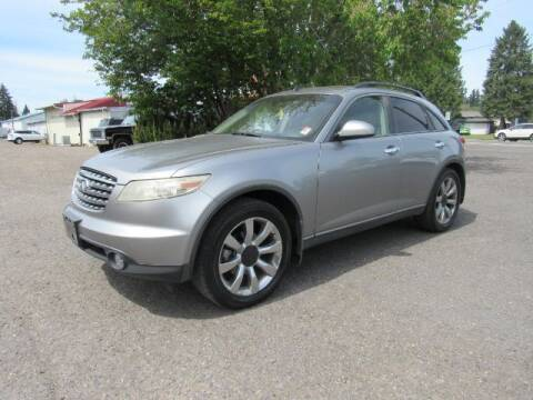 2003 Infiniti FX45 for sale at Triple C Auto Brokers in Washougal WA