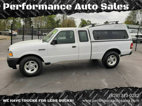 2011 Ford Ranger for sale at Performance Auto Sales in Hickory NC
