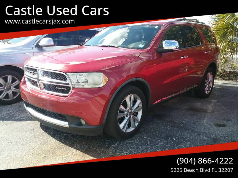 2011 Dodge Durango for sale at Castle Used Cars in Jacksonville FL