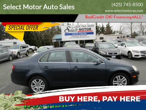 2009 Volkswagen Jetta for sale at Select Motor Auto Sales in Lynnwood WA