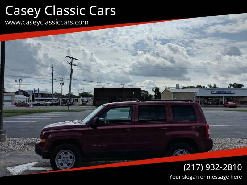 2016 Jeep Patriot for sale at Casey Classic Cars in Casey IL