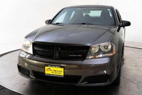 2014 Dodge Avenger for sale at AUTOMAXX MAIN in Orem UT