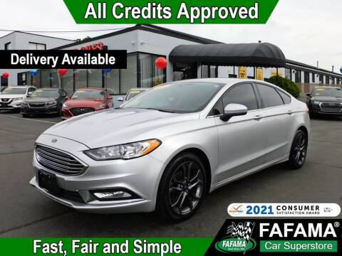 2018 Ford Fusion for sale at FAFAMA AUTO SALES Inc in Milford MA