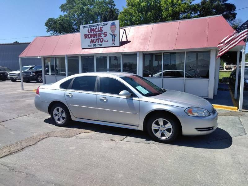 2013 Chevrolet Impala for sale at Uncle Ronnie's Auto LLC in Houma LA