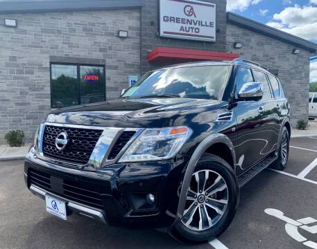 2019 Nissan Armada for sale at GREENVILLE AUTO & RV in Greenville WI