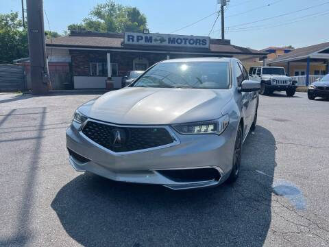 2019 Acura TLX for sale at RPM Motors in Nashville TN