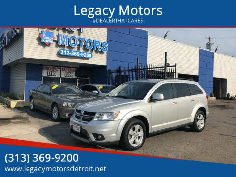 2012 Dodge Journey for sale at Legacy Motors in Detroit MI