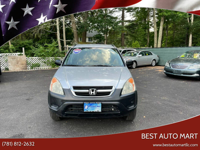2003 Honda CR-V for sale at Best Auto Mart in Weymouth MA