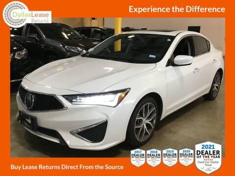 2019 Acura ILX for sale at Dallas Auto Finance in Dallas TX