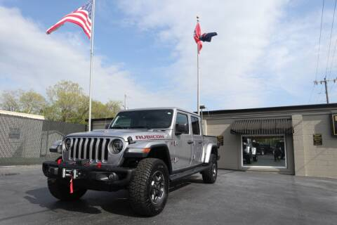 2020 Jeep Gladiator for sale at Danny Holder Automotive in Ashland City TN