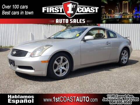 2004 Infiniti G35 for sale at 1st Coast Auto -Cassat Avenue in Jacksonville FL